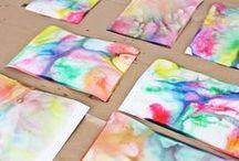 pinturas mármoles das niños