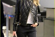 Women's Fashion - Leather Jackets