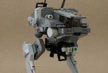Lego mech 'n space