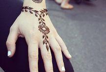 henna tattoo..