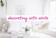 White / I love decorating with white or dress in white♥