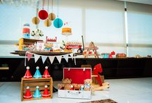 Vintage Toys Party Theme / Twins First Birthday Party
