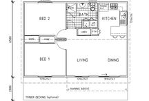 weekend house floor plan