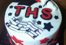 Graduation cakes.  / by Jennifer White