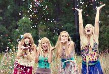 Fotos mit den Juze Girls