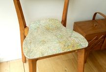 Chair decoupage