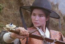 Martial arts and Action actress of Hong Kong / Taiwan / Actrices del cine de artes marciales y acción procedentes de Hong Kong y Taiwán