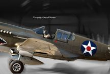 Flying Tigers / The American Volunteer Group, a k a the Legendary Flying Tigers from World War II