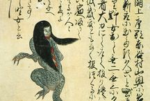Japanese historic handscrolls, booklets and woodcuts