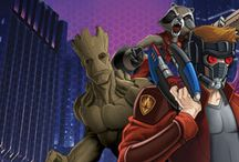 the Guardians of the Galaxy / les Gardiens de la Galaxie