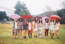 """BOHEMIAN BLISS PHOTO SHOOT / The concept of this shoot was a """"Bridesmaids Picnic"""" with a very playful, bohemian flair planned and styled by Sterling Social www.sterlingsocial.com.  The entire day was shot by Braedon Photography www.braedonphotography.com with a lifestyle, editorial perspective….basically bringing a Free People catalog to life!"""