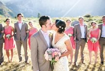 Mammoth Mountain Wedding / Coordinated by Lindsay of LVL Weddings and Events (www.lvlevents.com) // Photography: Troy Grover Photographers // Venue: Convict Lake Resort // Florals: The Vine's Leaf / by LVL Weddings