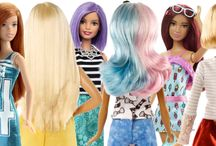 BARBIE účesy / BARBIE hairtyles 2016