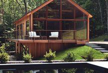 Casa en bosque