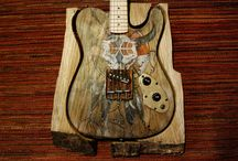 Biper Art Barnguitar native american
