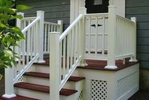Front steps ideas.