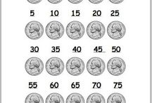 Math-skip counting and money