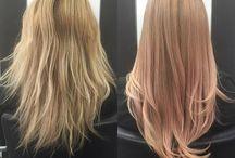 Hårfärger blondin
