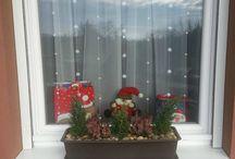 winter decoration /téli dekoráció