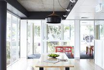 concrete ceiling / light to concrete ceiling