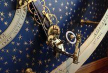 Astrology clock