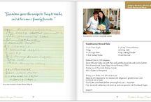 Family Recipe Book Ideas / by Judy Burch