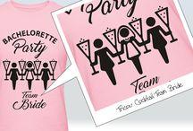 Tricouri Personalizate pentru Petrecerea Burlacitelor