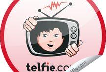 Telfie / telfie.com stickers