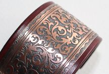Etched copper