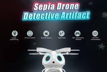 FLYPRO Sepia Detective Artifact UAV Wifi FPV Selfie Drone / FLYPRO Sepia Detective Artifact UAV Wifi FPV Selfie Drone Only 66.99$ + Coupon code AGRM827 Hurry up>> https://www.cafago.com/en/quadcopter-2492/p-rm8427.html?aid=Lss568