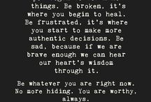 brave, broken, & authentic / Living brave, embracing our brokenness, and being authentic