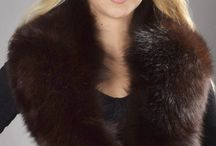 Authentic Fox Fur Neck Warmers / The luxurious selection of real fox fur neck warmers.   www.amifur.co.uk