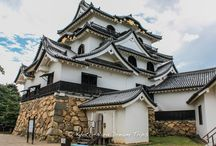 Hikone Castle in Shiga, Bastion of the Ii Clan! / When Ii Naomasa, one of the four top generals in the Tokugawa Army, distinguished himself in the battle of Sekigahara in 1600, he was awarded Sawayama Castle whose previous owner had been the defeated general Ishida Mitsunari. Transferring there in 1601, Naomasa planned to build a new castle.  But in 1603, Naomasa's son, Naotsugu fulfilled his father's wishes and began to build Hikone Castle. This picturesque hilltop castle on Mt. Hikone was completed in 1622 after 20 years of work.