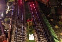 Model Train Night Scenes / by Model Trains