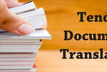 Tender Documents Translator Services Providers / Going to explore the essential informational about Certified Tender Documents Translator Services Providers across the globe.
