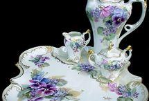 Victorian china sets