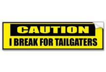 Aggressive Driving / Collection of bumper stickers for all of those driving situations I hate