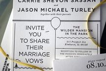 Invitations & Stationary