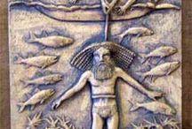 Mesopotâmia / Recortes da cultura dos povos da que transitavam pela região.