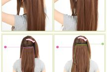 Tipps and Tricks for your Hair extensions / Here we will pin for you all interesting tipps how to handle your #hair-extensions #clip in extensions