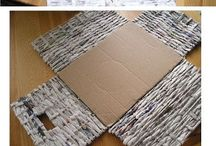 Diy paper wicker and weaving boxes