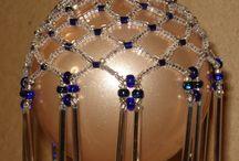 Beaded Ornaments / by Brenda Williams