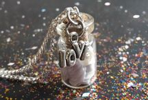 Wunschflaschen-Wishbottles / Wunschflaschen als Kette oder zum Sammeln, als Geschenk oder für sich selbst :-)