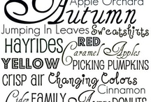 Autumn Decorating Ideas / by Maryn Hill Forney