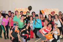 Zumba Halloween 2014 / Zumba Halloween Monster Partyen Intensse Fitness!!