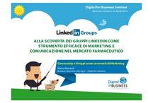 Presentazioni al Seminario LinkedIn Groups