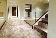 Silk carpets / Recent installation of luxurious faux silk carpets