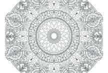 Welsh pixie mandalas to color / Coloring pages for adults