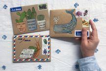 Оформление конвертов