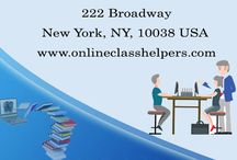 Take my online class / Attending uninteresting classes shouldn't bother you anymore. Hire expert tutors at onlineclasshelpers.com to 'take my online class'. Experts at Online Class Helpers don't just take online classes, do homework, write assignments but also take online exams for you.